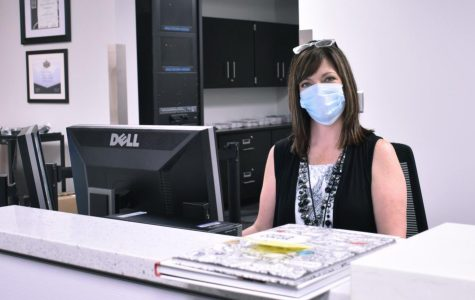 Mrs. Nikki Olsen, main office secretary