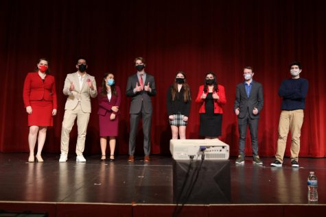 Speech claims first place at State